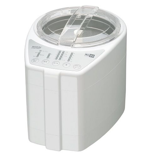 山本電気 精米機 MICHIBA KITCHEN PRODUCT RICE CLEANER 匠味米 Premium White MB-RC23W