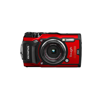 【専用ケース付き】OLYMPUS STYLUS Tough TG-5 Red