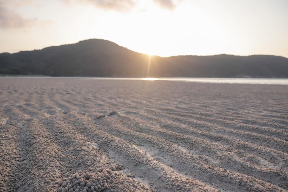 Canon EOS Kiss M レンズキットで撮影♪白い砂浜の絶景ビーチ・蛤浜海水浴場