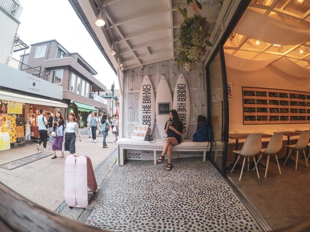 GoPro HERO7で江ノ島のカフェで♪