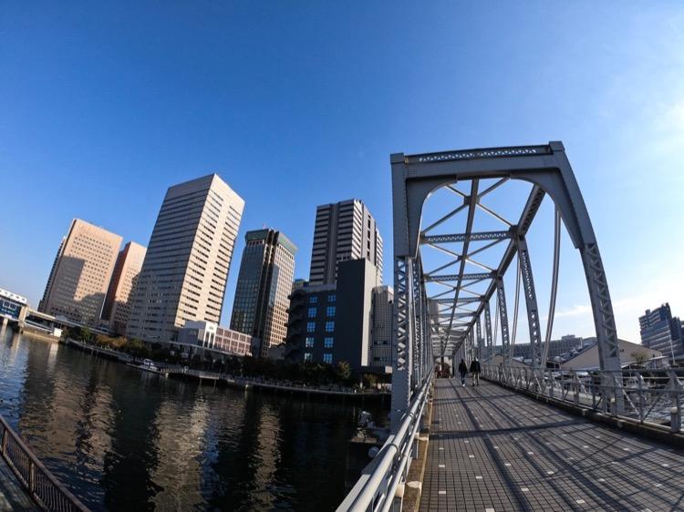 GoPro Hero7 東京☆橋☆快晴♪