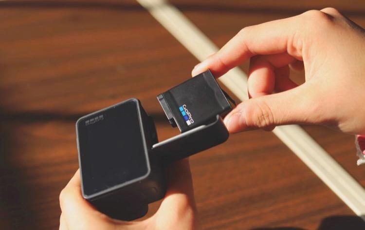 GoProの予備バッテリー