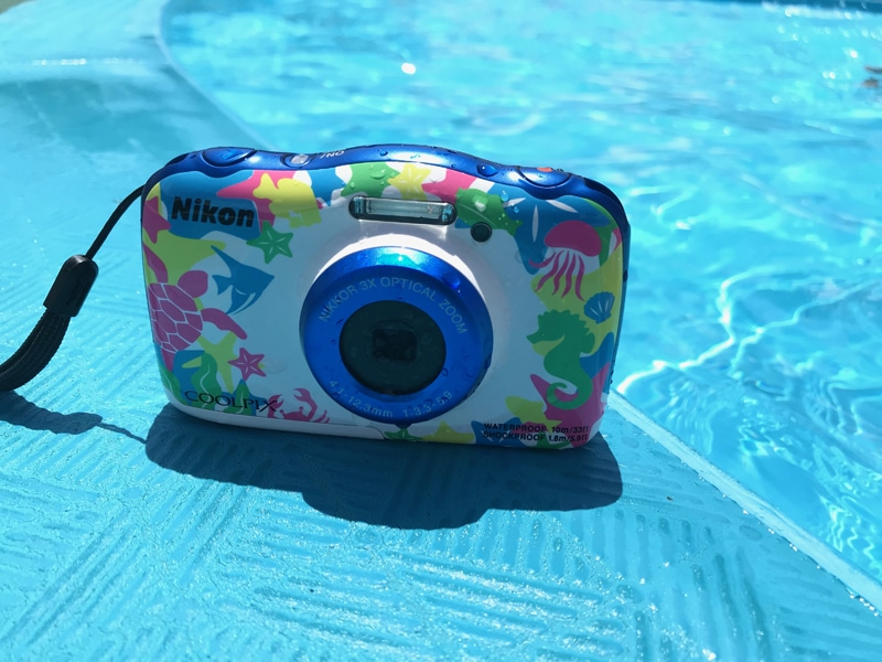COOLPIX W100 水辺で撮影