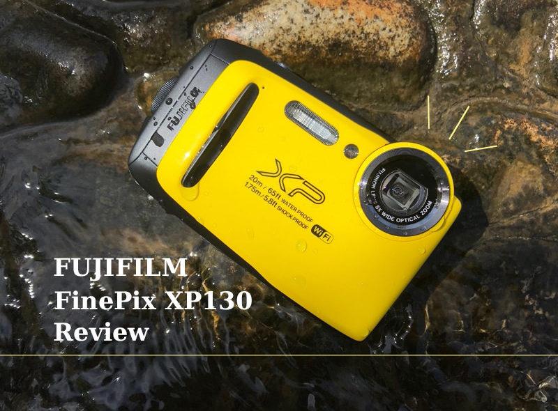 水中カメラをレンタル体験。XP130で公園で水遊びする子どもの撮影してみたら◎だった