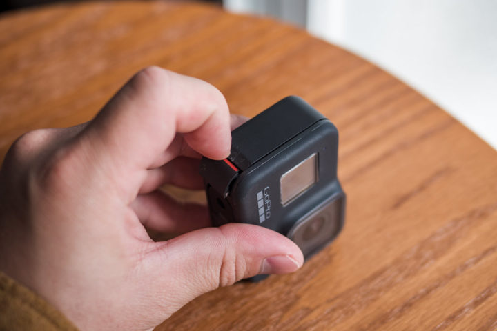 GoPro HERO8 バッテリー 交換