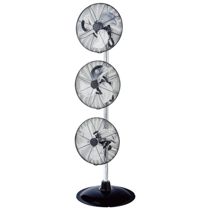 Triple fan