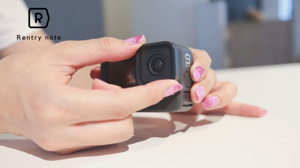 GoPro 9 レンズ交換