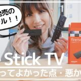 fire Stick TV レビュー