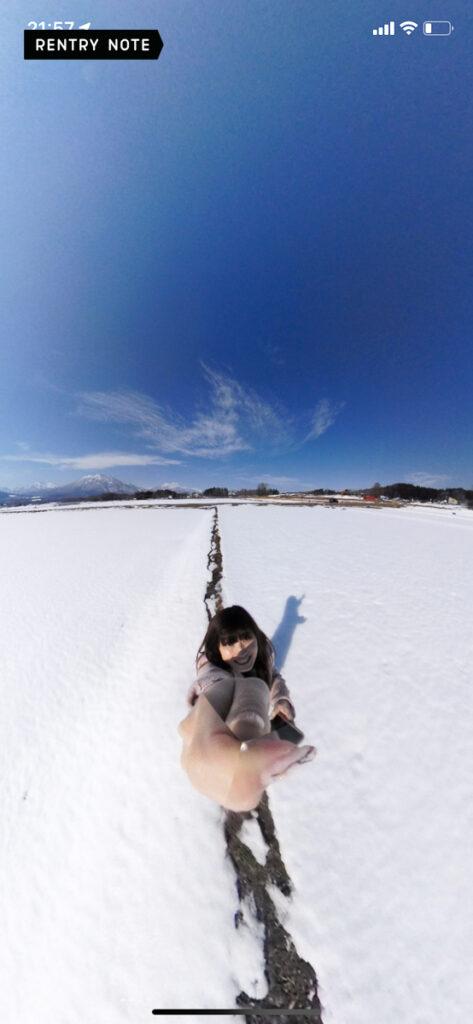 iqui 写真 平面 雪
