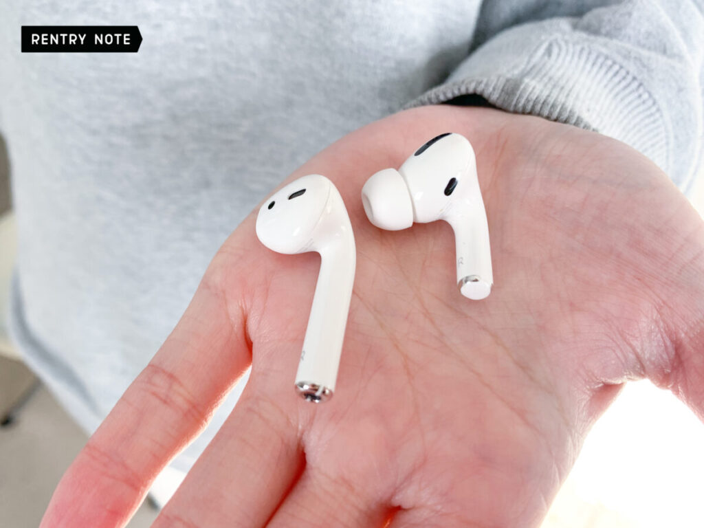 AirPods Pro 小さくなった