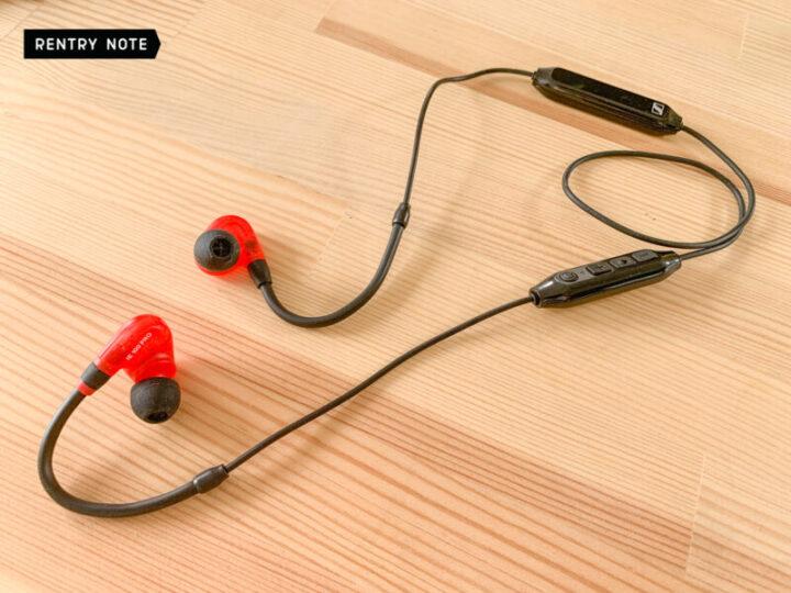 SENNHEISER IE 100 PRO BT BUNDLE Bluetoothコネクター装着後