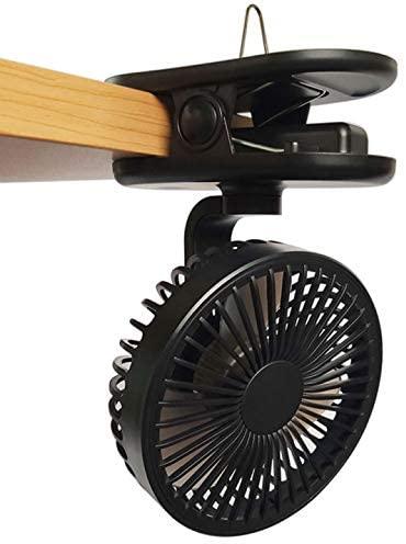 クリップ式扇風機