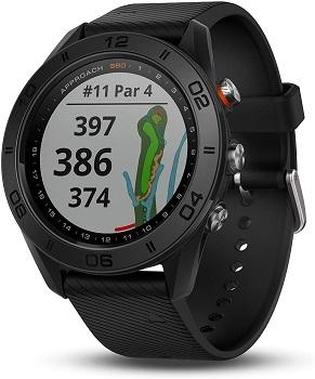GPS機能でラウンド中もグリーンまでの距離がわかる
