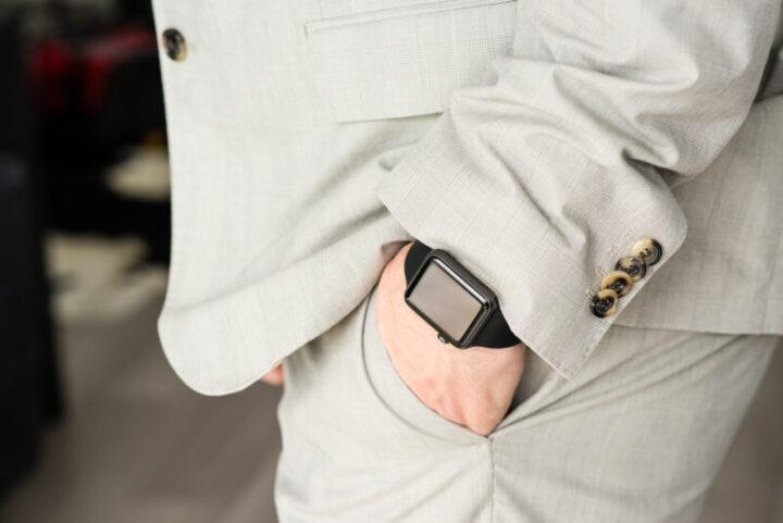 【40mm】Apple Watchを自然に付けたい人・軽さと安さ重視な人におすすめ