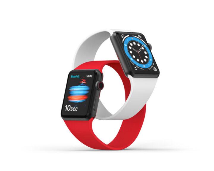 Apple Watch Series 6とApple Watch SEはデザイン同じ
