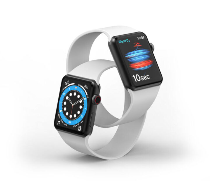Cracow, Poland - 21 September 2020: Apple Watch Series 6