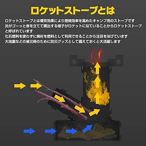 ロケットストーブの原理は、酸素が行き渡る「煙突効果」の仕組み