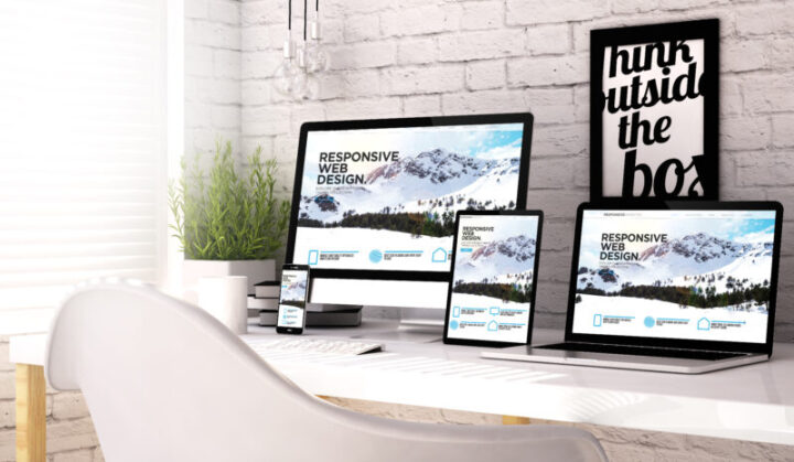 Devices collection workplace with responsive website